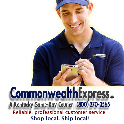 Commonwealth Express is a Kentucky Courier with same day delivery in Clark, Estill, Garrard, Jessamine, Lexington–Fayette, Madison, and Rockcastle Counties.