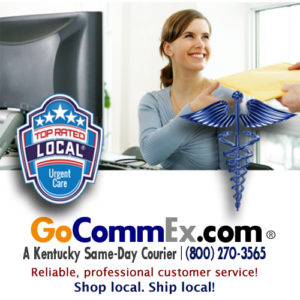 Hospitals, Medical Devices, Pharmacy, Prescriptions, Manufacturing, Catering, and Printing companies depend on CommEx Courier & Logistics for local deliveries in Lexington, Louisville, Frankfort, Nicholasville, Winchester, Richmond, Berea, and cities across Kentucky.